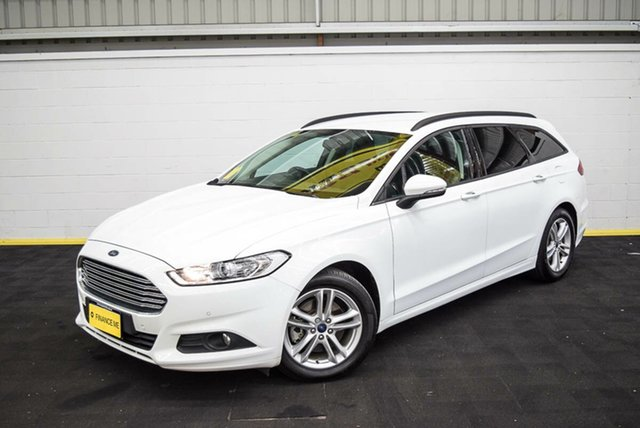 Used Ford Mondeo MD Ambiente TDCi, 2016 Ford Mondeo MD Ambiente TDCi White 6 Speed Automatic Wagon