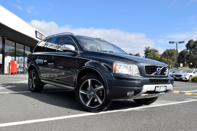 Used Volvo XC90 P28 MY13 D5 Geartronic R-Design, 2013 Volvo XC90 P28 MY13 D5 Geartronic R-Design Grey 6 Speed Sports Automatic Wagon