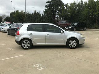 2008 Volkswagen Golf V MY08 Pacific Silver 6 Speed Manual Hatchback