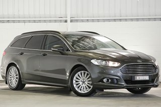 2016 Ford Mondeo MD Trend Grey 6 Speed Sports Automatic Dual Clutch Wagon.