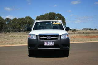 2008 Mazda BT-50 08 Upgrade B2500 DX White 5 Speed Manual Cab Chassis