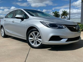2017 Holden Astra BL MY17 LS+ Silver 6 Speed Sports Automatic Sedan.
