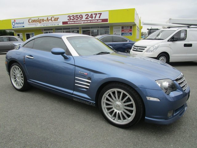 Used Chrysler Crossfire ZH MY2005 SRT-6, 2006 Chrysler Crossfire ZH MY2005 SRT-6 Blue 5 Speed Sports Automatic Coupe