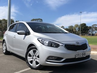 2015 Kia Cerato YD MY15 S Silver 6 Speed Sports Automatic Hatchback.