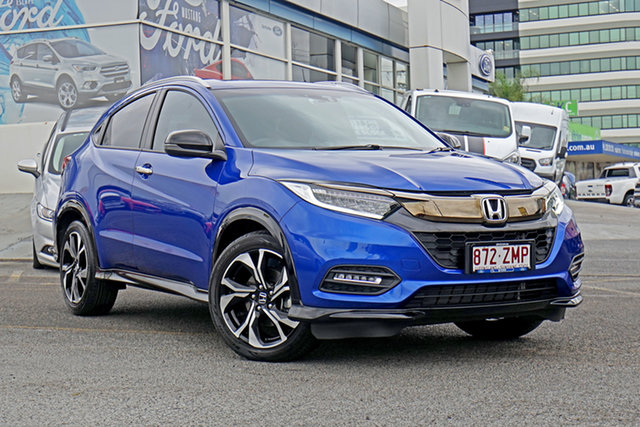 Used Honda HR-V MY20 RS, 2019 Honda HR-V MY20 RS Blue 1 Speed Constant Variable Hatchback