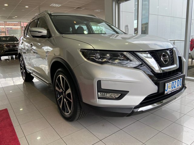 Demo Nissan X-Trail T32 Series II Ti X-tronic 4WD Launceston, 2020 Nissan X-Trail T32 Series II Ti X-tronic 4WD Brilliant Silver 7 Speed Constant Variable Wagon