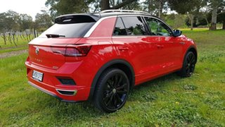 2020 Volkswagen T-ROC A1 MY20 140TSI DSG 4MOTION X Flash Red 7 Speed Sports Automatic Dual Clutch