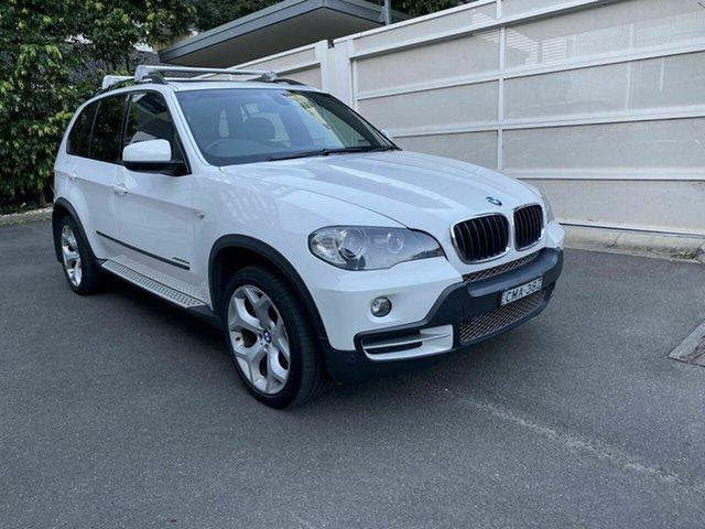 Used BMW X5 E70 MY10 xDrive30d Steptronic, 2009 BMW X5 E70 MY10 xDrive30d Steptronic White 6 Speed Sports Automatic Wagon
