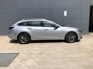 2020 Mazda 6 GL1033 Sport SKYACTIV-Drive Sonic Silver 6 Speed Sports Automatic Wagon.