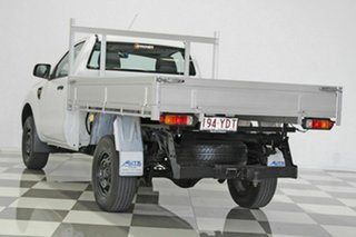2012 Ford Ranger PX XL 2.2 Hi-Rider (4x2) White 6 Speed Automatic Cab Chassis