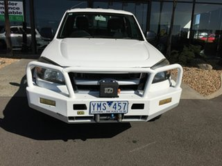 2010 Ford Ranger PK XL (4x4) White 5 Speed Manual Dual Cab Chassis.