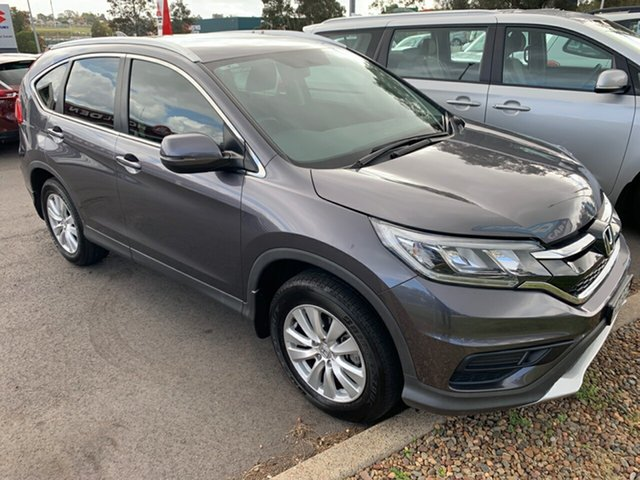 Used Honda CR-V RM Series II MY17 VTi 4WD, 2016 Honda CR-V RM Series II MY17 VTi 4WD Grey 5 Speed Sports Automatic Wagon