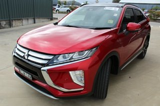 2020 Mitsubishi Eclipse Cross YA MY20 Exceed 2WD Red Diamond 8 Speed Constant Variable Wagon.