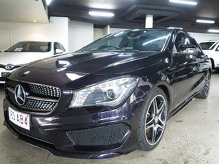 2015 Mercedes-Benz CLA-Class C117 806MY CLA200 DCT Black 7 Speed Sports Automatic Dual Clutch Coupe