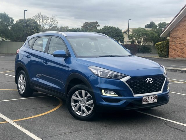 Used Hyundai Tucson TL3 MY19 Active X 2WD, 2019 Hyundai Tucson TL3 MY19 Active X 2WD Blue 6 Speed Automatic Wagon