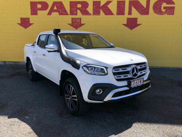 Used Mercedes-Benz X-Class 470 X250d 4MATIC Power, 2018 Mercedes-Benz X-Class 470 X250d 4MATIC Power White 7 Speed Sports Automatic Utility