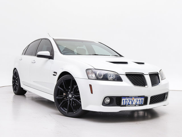 Used Holden Commodore VE MY10 SS-V, 2010 Holden Commodore VE MY10 SS-V White 6 Speed Manual Sedan