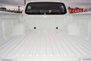 2019 Mitsubishi Triton MR MY20 GLX+ Double Cab White 6 Speed Manual Utility