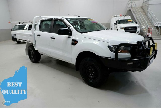 Used Ford Ranger PX MkII XL, 2017 Ford Ranger PX MkII XL White 6 Speed Sports Automatic Cab Chassis