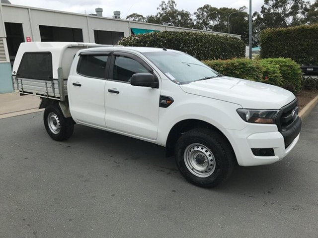 Used Ford Ranger PX MkII XL, 2016 Ford Ranger PX MkII XL White 6 speed Manual Cab Chassis