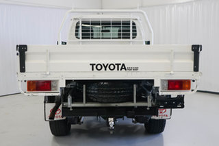 2015 Toyota Landcruiser VDJ79R GXL White 5 Speed Manual Cab Chassis
