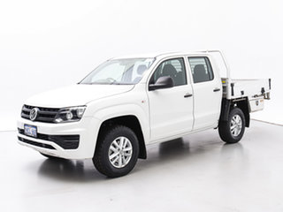 2017 Volkswagen Amarok 2H MY17 TDI420 Core Edition (4x4) White 8 Speed Automatic Dual Cab Chassis.