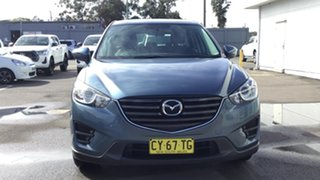2014 Mazda CX-5 KE1031 MY14 Maxx SKYACTIV-Drive AWD Blue 6 Speed Sports Automatic Wagon.