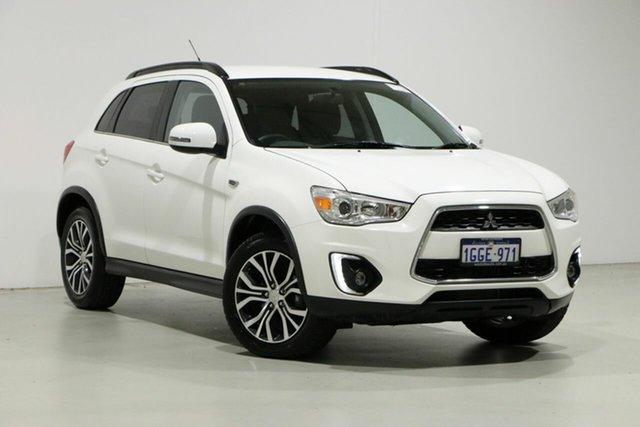 Used Mitsubishi ASX XB MY15.5 LS (4WD), 2016 Mitsubishi ASX XB MY15.5 LS (4WD) White 6 Speed Automatic Wagon