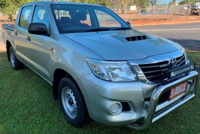 Used Toyota Hilux KUN16R MY14 SR Double Cab 4x2, 2014 Toyota Hilux KUN16R MY14 SR Double Cab 4x2 Silver 5 Speed Manual Utility