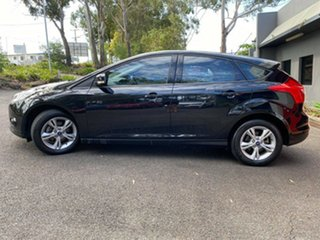 2013 Ford Focus LW MkII Trend PwrShift Individual Metallic Black 6 Speed Automatic Hatchback