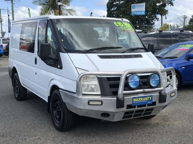 Used Ford Transit VM Low Roof MWB, 2010 Ford Transit VM Low Roof MWB White 5 Speed Manual Van