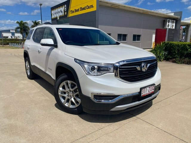 Used Holden Acadia AC MY19 LT AWD, 2019 Holden Acadia AC MY19 LT AWD White 9 Speed Sports Automatic Wagon