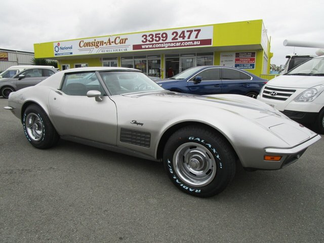 Used Chevrolet Corvette  Stingray, 1972 Chevrolet Corvette STING RAY Stingray Silver 4 Speed Automatic Coupe