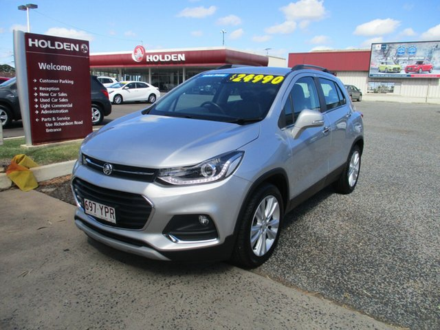 Used Holden Trax TJ MY18 LTZ North Rockhampton, 2018 Holden Trax TJ MY18 LTZ Silver 6 Speed Automatic Wagon