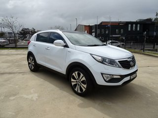 2013 Kia Sportage SL Series II MY Platinum White 6 Speed Sports Automatic Wagon.