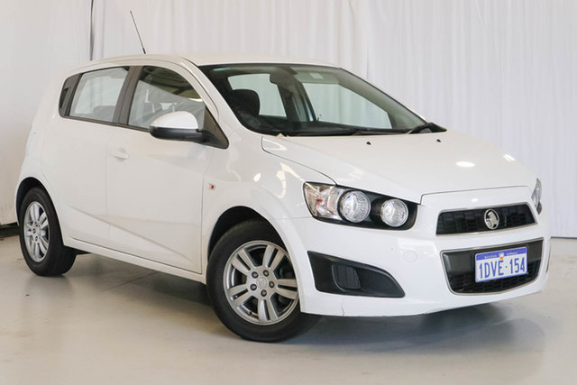 Used Holden Barina TM , 2012 Holden Barina TM White 6 Speed Automatic Hatchback