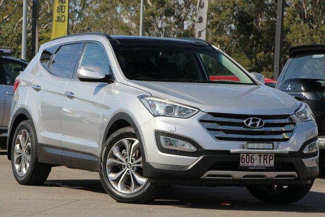 Used Hyundai Santa Fe DM MY14 Highlander, 2014 Hyundai Santa Fe DM MY14 Highlander Silver 6 Speed Sports Automatic Wagon