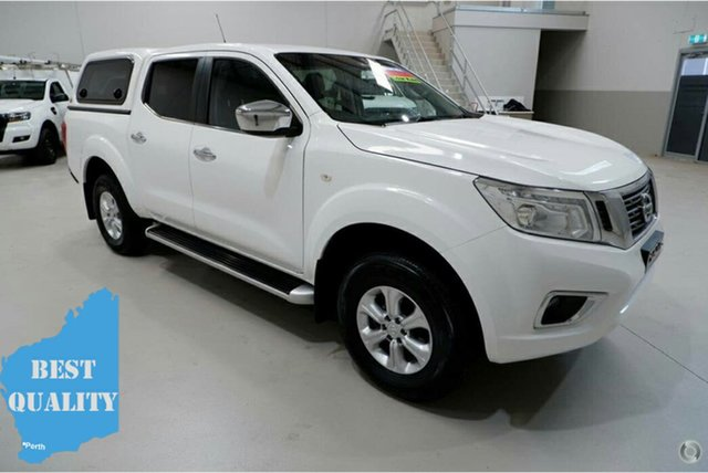 Used Nissan Navara D23 ST, 2016 Nissan Navara D23 ST White 7 Speed Sports Automatic Utility