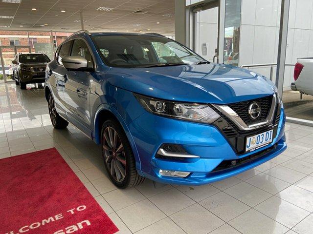 Demo Nissan Qashqai J11 Series 3 MY20 N-SPORT X-tronic, 2019 Nissan Qashqai J11 Series 3 MY20 N-SPORT X-tronic Vivid Blue 1 Speed Constant Variable Wagon
