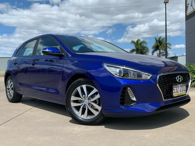 Used Hyundai i30 PD2 MY20 Active, 2019 Hyundai i30 PD2 MY20 Active Blue 6 Speed Sports Automatic Hatchback