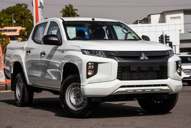 Used Mitsubishi Triton MR MY20 GLX Double Cab ADAS, 2019 Mitsubishi Triton MR MY20 GLX Double Cab ADAS White 6 Speed Manual Utility