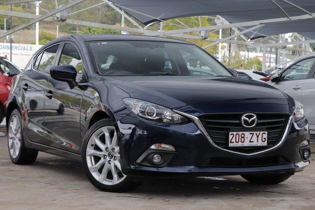 Used Mazda 3 BM5438 SP25 SKYACTIV-Drive, 2015 Mazda 3 BM5438 SP25 SKYACTIV-Drive Blue 6 Speed Sports Automatic Hatchback