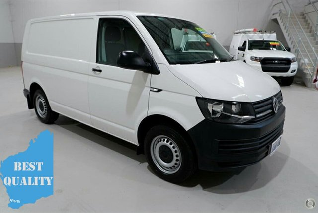 Used Volkswagen Transporter T6 MY16 TDI340 SWB DSG, 2016 Volkswagen Transporter T6 MY16 TDI340 SWB DSG White 7 Speed Sports Automatic Dual Clutch Van