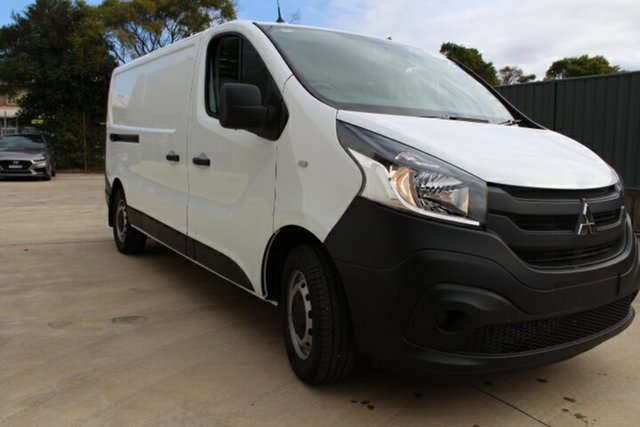 New Mitsubishi Express SN MY21 GLX LWB Tuggerah, 2020 Mitsubishi Express SN MY21 GLX LWB White 6 Speed Manual Van