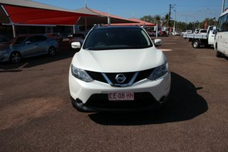 2015 Nissan Qashqai J11 TI White 1 Speed Continuous Variable Wagon.