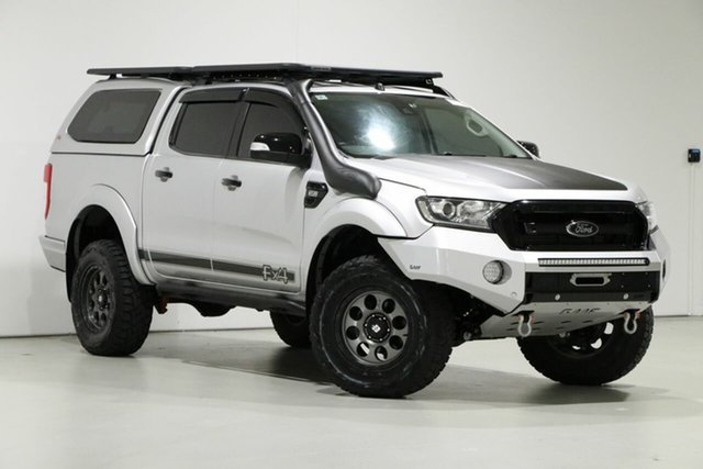 Used Ford Ranger PX MkII MY17 FX4 Special Edition, 2017 Ford Ranger PX MkII MY17 FX4 Special Edition Silver 6 Speed Automatic Double Cab Pick Up