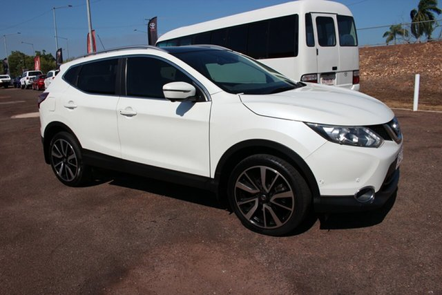 Used Nissan Qashqai J11 TI, 2015 Nissan Qashqai J11 TI White 1 Speed Continuous Variable Wagon