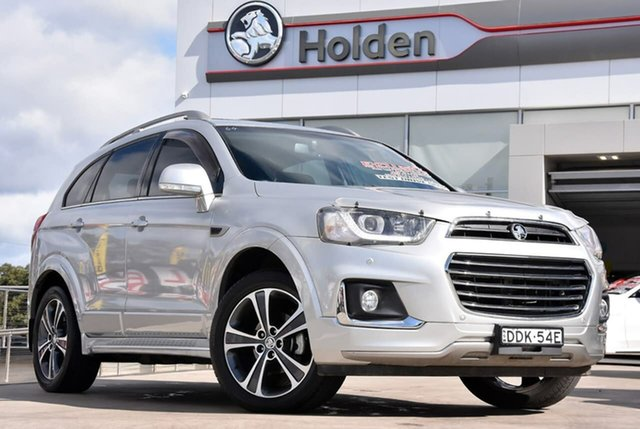 Used Holden Captiva CG MY16 LTZ AWD, 2015 Holden Captiva CG MY16 LTZ AWD Nitrate Silver 6 Speed Sports Automatic Wagon