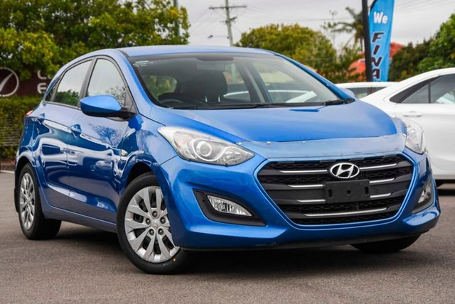 Used Hyundai i30 GD4 Series II MY17 Active DCT, 2016 Hyundai i30 GD4 Series II MY17 Active DCT Blue 7 Speed Sports Automatic Dual Clutch Hatchback