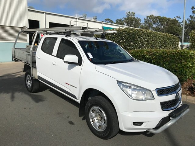 Used Holden Colorado RG MY15 LS Crew Cab, 2015 Holden Colorado RG MY15 LS Crew Cab 6 speed Automatic Cab Chassis